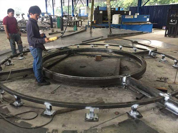 Steel Facade Fabrication Thailand