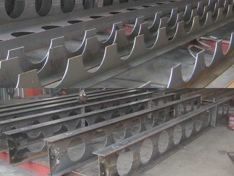 Steel Fabrication Thailand Cellular Beams